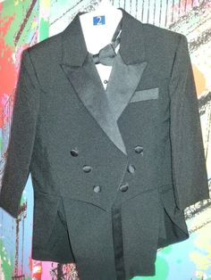 New (never used) - Boys tux for holidays.or weddings new