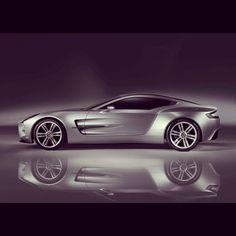 Beautiful Aston Martin One 77