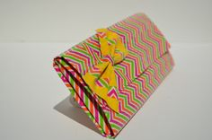 Zig Zag duct tape wallet by RubberDuctDesigns on Etsy