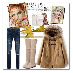 """shein 6"" by amelakafedic ❤ liked on Polyvore featuring moda, Vera Wang e shein"