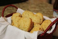 Easy Beer Biscuits.  Use a strong beer for best results...Guinness or the like.