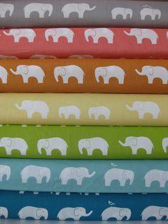 Jay-Cyn Designs for Birch Fabrics, Mod Basics, Organic, Ellie Fam, in FAT QUARTERS, 7 Total