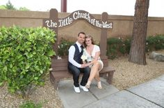 Las Vegas Wedding at The Little Church of the West. Historic Chapel voted the best Wedding Chapel! http://www.littlechurchlv.com/
