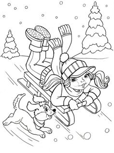 Top 25 Free Printable Winter Coloring Pages Online | Coloring Pages ...