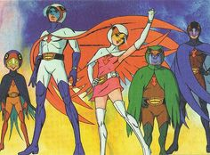 Battle of the Planets, I loved this and it used to inspire me to build a new Phoenix out of Lego each week...