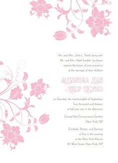Floral Orchestra  by @Weddingstar Inc. in @Black Bride Pink October Wedding Inspiration