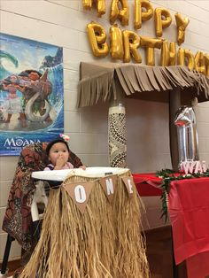 Moana birthday idea