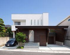Diseño de Interiores & Arquitectura: Arquitectura Japonesa Moderna: Casa U3 Minimalista