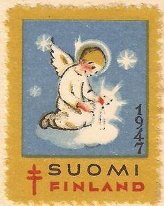 Kirjeitä myllyltäni: Joulumerkkejä ja vähän muitakin Christmas Images, Christmas Cards, Tiny Gifts, Moomin, Oracle Cards, Mail Art, Stamp Collecting, Travel Posters, Postage Stamps