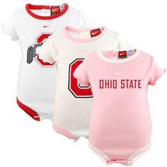 Nike. Ohio State. Baby.