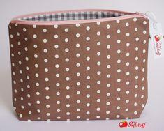☆ Kulturbeutel ☆ Handmade ☆ Wickeltasche ☆ Kosmetiktasche ☆ Camping Tasche Neu Accessoires