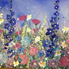 Jane Morgan - Summer garden flowers