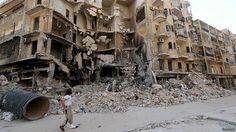 مسلحون بقيادة إسلاميين يشنون حملة للسيطرة على حلب في سوريا... - http://www.arablinx.com/%d9%85%d8%b3%d9%84%d8%ad%d9%88%d9%86-%d8%a8%d9%82%d9%8a%d8%a7%d8%af%d8%a9-%d8%a5%d8%b3%d9%84%d8%a7%d9%85%d9%8a%d9%8a%d9%86-%d9%8a%d8%b4%d9%86%d9%88%d9%86-%d8%ad%d9%85%d9%84%d8%a9-%d9%84%d9%84%d8%b3/