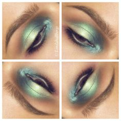 Mermaid  #eotd #makeup