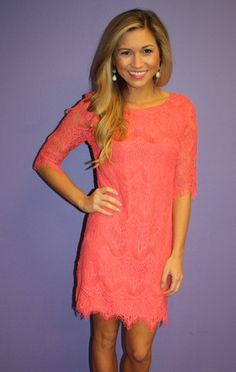 Blushing in Lace Coral | Impressions