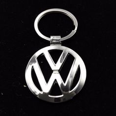 Hot Sale Fashion Metal Car Logo Key Rings Keyring Key Chain for Volkswagen VW Car Styling Key Holder
