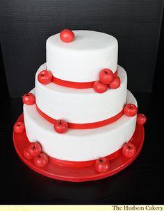 Apple of my Eye Wedding Cake