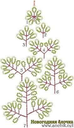 Деревья из бисера видео мастер-классы Клен осенний - дерево из бисера параллельным плетением.