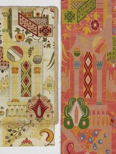 Dress fabric | Leman, James | V&A Search the Collections