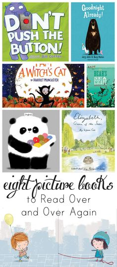 Everyday Reading - Fun Modern Motherhood with a Practical Spin: 8 Picture Books to Read Over and Over Again