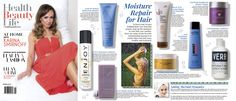 ENJOY Hydrating Conditioner - featured in the Spring 2015 issue of Health Beauty Life magazine.