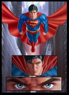 Superman ®  Christopher Reeves will always be the Real Superman to me. RIP...