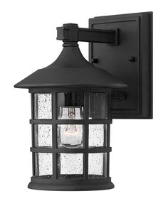 Exterior Wall Lanterns Exterior Lighting Decor With One Light Outdoor Wall Lantern In Black Finish