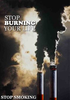 Stop smoking ad