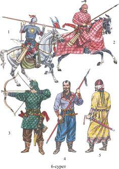 Turks 6th- 8th century