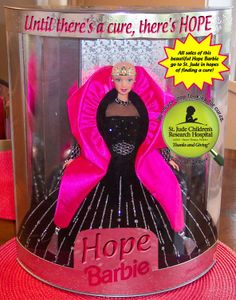 """""""Ok Mattel, here you go. I made you an example of the Barbie you need to make for the 2012 'Holiday Barbie'. The 'Hope Barbie' would be a great way to give hope to little girls all across the world who are fighting cancer and seeing Barbie without her trademark locks would be great therapy for them. All of the proceeds could be donated to St. Jude's so that maybe one day a cure will be found and no little 'Princess' will ever have to be without their hair again. Copy and paste this into your…"""