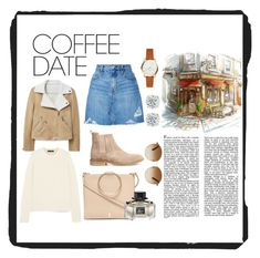 """""""Coffee date"""" by annabalint16 on Polyvore featuring Thacker, The Row, Nobody Denim, Gucci, MANGO, Winter, CoffeeDate and cappuchino"""