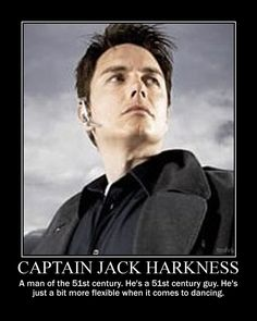 "Hegemonic Masculinity: Captain Jack Harkness Jack maintains a ""subverted, eyes-and-teeth version of gun-toting masculinity"" while being an example of sexual fluidity, which was mentioned in queer theory (Martin 2014)."