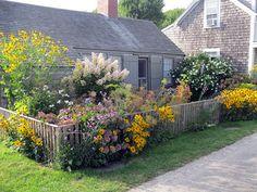 Nantucket garden