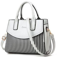 Women Satchel PU Leather Purse Crossbody Bag Top-handle Messenger Tote  Shoulder Bag Ladies Bags f399a6c1870ab
