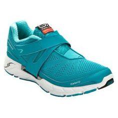 Chaussures running femme Eliofeet vert blanc