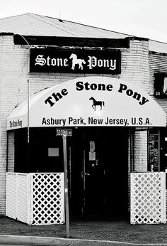 The Stone PonyAsbury Park, New JerseyAugust DeLucoTerry D PhotographyThe legendary Stone Pony located in Asbury Park, New Jersey Asbury Park, Art Sites, Music Music, Bruce Springsteen, Bon Jovi, Beautiful Artwork, Prints For Sale, New Jersey, Night Club