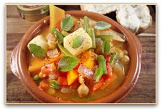 Olla gitana - a delicious gypsy stew from Murcia, Spain; incredibly healthy and tastes amazing!