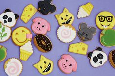 More emoji cokies...