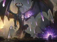 Hour of Devastation - Magic the Gathering, Greg Rutkowski on ArtStation at https://www.artstation.com/artwork/nlogX?utm_campaign=digest&utm_medium=email&utm_source=email_digest_mailer