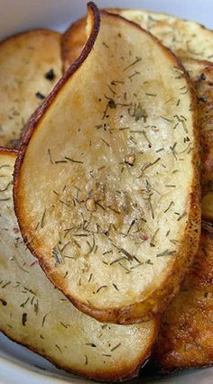Homemade Dill Pickle Potato Chips