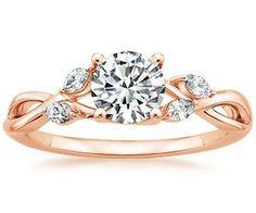 unique rose gold engagement rings 300x250