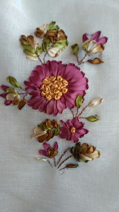 Embroidery Designs Store upon Embroidery Essentials lot Embroidery Stitches Easy regarding Embroidery Hoop Storage under Embroidery Near Me Laredo Tx Ribbon Embroidery Tutorial, Hand Embroidery Dress, Floral Embroidery Patterns, Learn Embroidery, Hand Embroidery Stitches, Silk Ribbon Embroidery, Embroidery Art, Embroidery Designs, Crazy Quilt Blocks