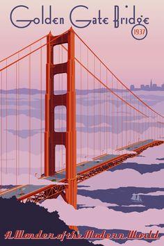 Golden Gate Bridge Fine Art Piece
