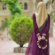 Hijab girl with band islam❤ Hijabi Girl, Girl Hijab, Hijab Outfit, Hijab Evening Dress, Niqab Fashion, Girl Fashion, Hijab Dpz, Muslim Women Fashion, Stylish Dpz