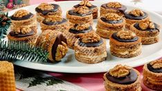 "Image: Restrictions: Not available for ""royalty free"" licensing… Baking Recipes, Cookie Recipes, Dessert Recipes, Christmas Dishes, Christmas Baking, Sweet Cookies, Cake Cookies, Romanian Desserts, Czech Recipes"