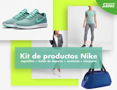 Consigue gratis un Kit de productos Nike