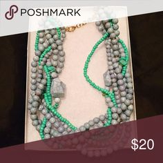 🎉Beautiful Beaded Necklace🎉 Gorgeous braided beaded necklace with adjustable closure! Jewelry Necklaces