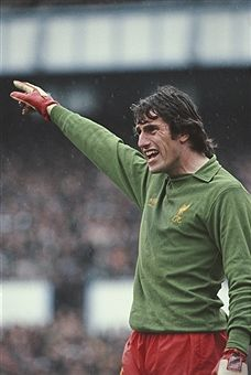 862a5813736 English professional footballer and goalkeeper with Liverpool Ray Clemence  pictured in goal during a rain soaked first division match circa 1979