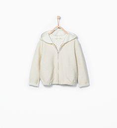 Shiny hooded jacket - Sweatshirts - Girl (3 - 14 years) - KIDS | ZARA United States