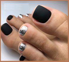 Fall Pedicure, Pedicure Colors, Pedicure Designs, Toe Nail Designs, Pedicure Nails, Gel Nails, Fall Toe Nails, Pretty Toe Nails, Cute Toe Nails